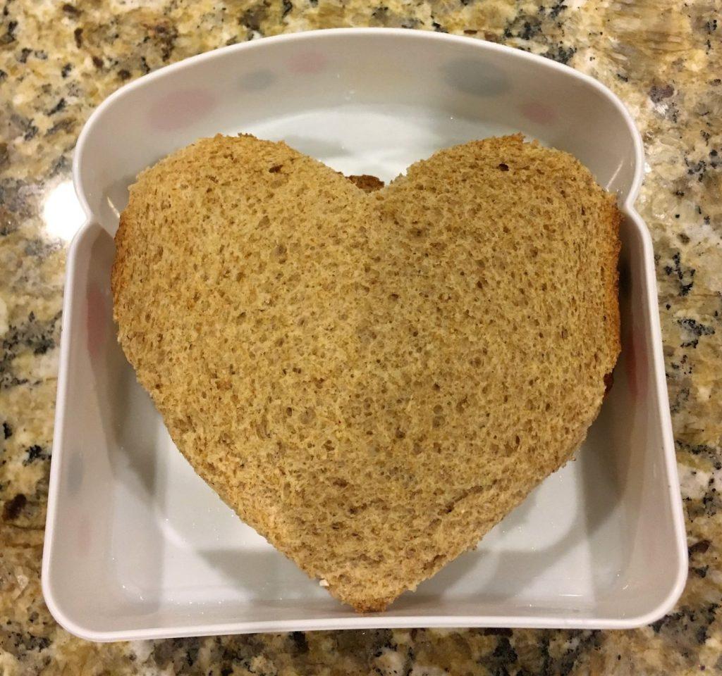 Valentine's Heart Sandwich