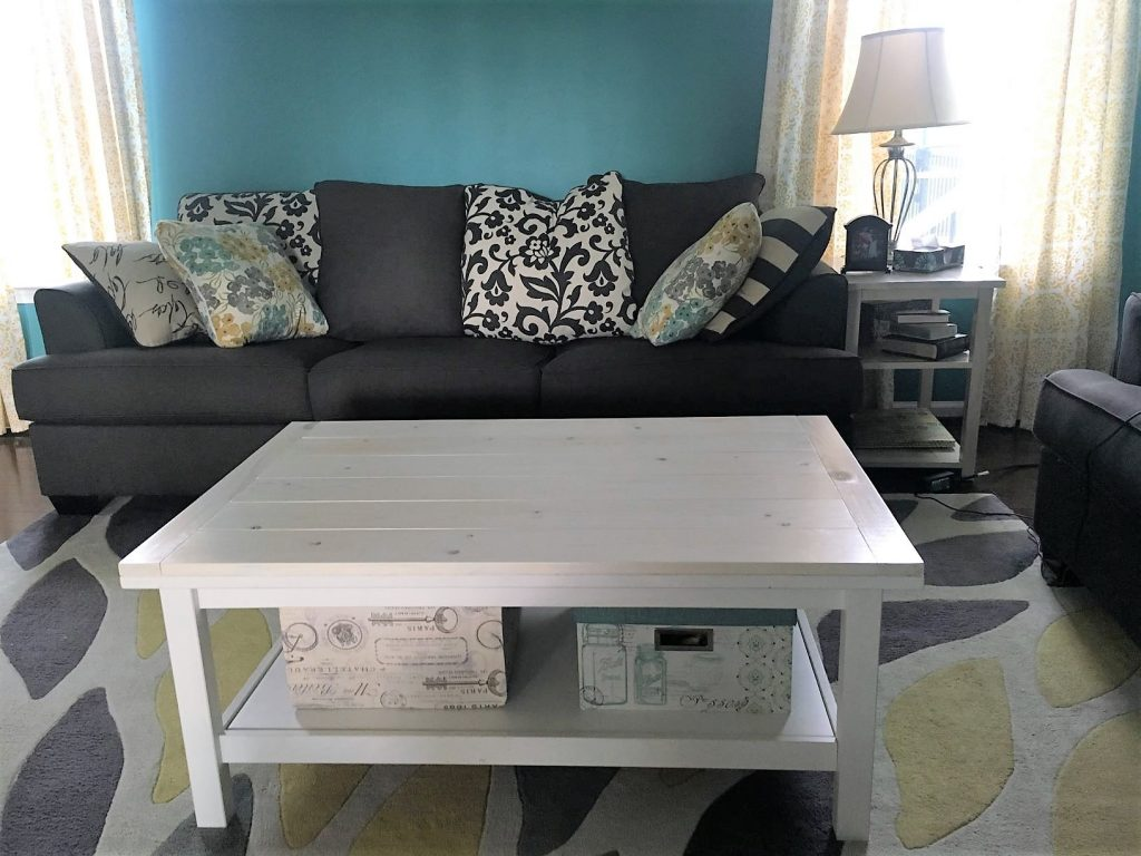 living room table set: finished idea table