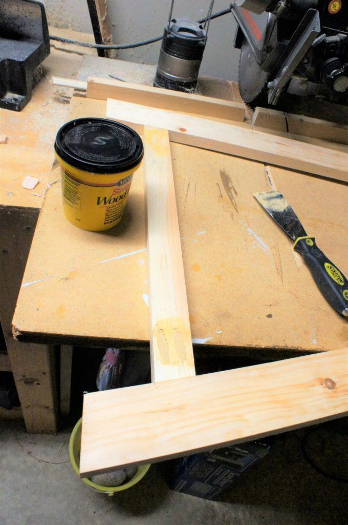 Desk Plan Wood Filler