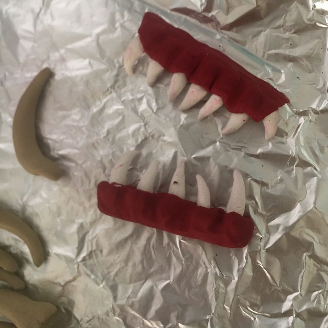 Monster Book teeth