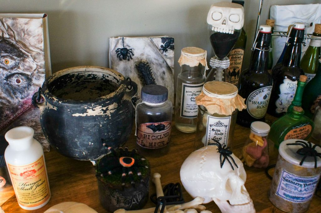 How To Make The Best Halloween Apothecary Jars Cathartic Crafting