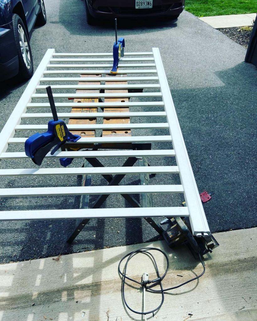 crib rail start